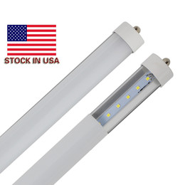 Discount led warm bulbs - 8' led 45 watt bulbs 8ft LED Tube Single Pin FA8 T8 LED Tubes Light 8 ft 8Feet 45W LEDs Lights Tube Lamp