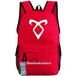 $enCountryForm.capitalKeyWord UK - Shadowhunters backpack Teleplay schoolbag Shadow hunter TV play daypack Outdoor school bag Nylon rucksack Hot sale day pack
