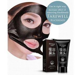 $enCountryForm.capitalKeyWord Australia - BIOAQUA Black Suction Mask Anti-Aging 60g SHILLS Deep Cleansing purifying peel off Black face mask Remove blackhead Peel Whitening Masks