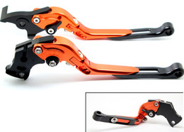 foldable brake clutch NZ - CNC Brake Clutch Levers Set Foldable Extending For Yamaha YZF R6 99-04 R1 02-03