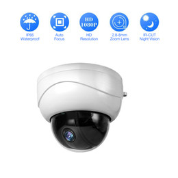 CCtv night vision dome Camera online shopping - Outdoor HD P X Optical Zoom Network IP Camera CCTV Dome PTZ IR Night Vision