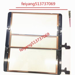 Mini Ipad Touch Screen Replacement NZ - For iPad Mini 1   2 Touch Screen Digitizer Assembly with IC with Home Button outer Glass Touch Panel Replacement