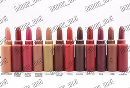 Discount makeup factory lipstick - Factory Direct DHL Free Shipping New Makeup Lips M5544 Matte Lipstick!12 Different Colors