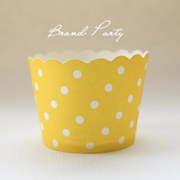 $enCountryForm.capitalKeyWord NZ - Cupcake Wrappers Orange High Temperature Greaseproof Paper Mini Muffin Cupcake Liners Cupcake Cases