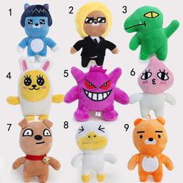 Neo Toys Canada - Kakao Friends Plush Doll Toys 9 Styles Kakao Friends Cartoon 12CM Neo Tube Con Muzi Peach RYAN Funny Stuffed toys A01