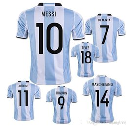 98311e72f64 ... 2018 lionel messi youth home ls soccer jersey 2015 argentina 10  wholesale new argentina world cup soccer ...