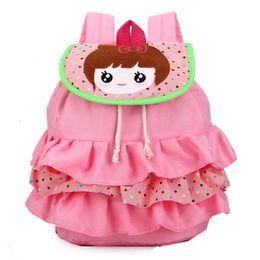 $enCountryForm.capitalKeyWord Canada - New style lovely tired skirt baby girls backpack children cartoon schoolbag kindergarten girl's backpack cute layered dress girls Backpack