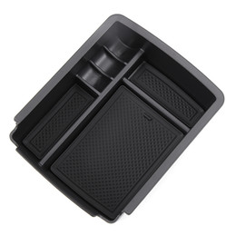 plastic containers for storage UK - High Quality Central Storage Pallet Armrest Container Box for VW Golf 7 MK7 VII 2013 2014