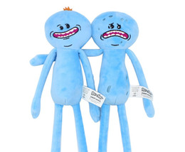 $enCountryForm.capitalKeyWord NZ - 9.8inch(25cm) Fun Rick and Morty Happy Sad Meeseeks Stuffed Plush Stuffed Toys Dolls For Kids Gift