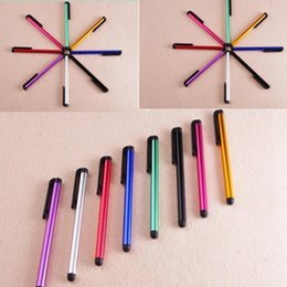 $enCountryForm.capitalKeyWord NZ - Portable Capacitive Stylus Sensitive Pen Touch Screen Pen Colorful Universal For ipad Phone 7 plus Samsung Tablet PC Android HTC Cell Phone