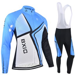 Clothes Long Cycle NZ - Brand BXIO Zipper Long Sleeve Cycling Clothing Can Be Choose Winter Or Non-winter Bike Clothing Men Ropa Ciclismo Invierno BX-043