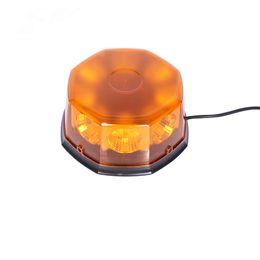 $enCountryForm.capitalKeyWord Australia - 8 LED 12 Flashing Mode Car Auto Beacon Lights Emergency Hazard Police Warning Strobe Light w  Strong Magnetic Base Amber Red New