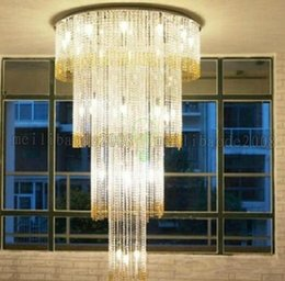 Beautiful Crystal Light Chandelier LED Luminare Modern Chandeliers Living Room Lamp Diameter 60cm Free Shipping MYY