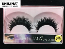Shilina Faux Cils Pas Cher-Vente en gros! SHILINA 2047 Cils faux 1 paire Hand-made Fake Lashes Soft Natural Long Eye Lashes Extension Maquillage professionnel