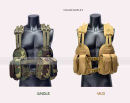 $enCountryForm.capitalKeyWord Australia - 2017 New High-quality Jungle camouflage tactical vest Portabl CS Field operations tactical cartridge belt SEALs The special arm Safety vest