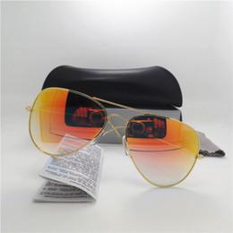 Glasses Sun Protection Australia - AAA+ Quality Glass gradient lens Fashion Men and Women Sunglasses UV Protection Brand Designer Vintage Sport Sun glasses With box