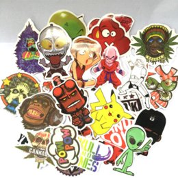 $enCountryForm.capitalKeyWord Canada - 200Pcs Car Styling Sticker Bomb Doodle Stickers Car Covers Skateboard Graffiti Snowboard Motorcycle Bicycle Luggage Accessories