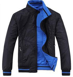 bm jackets Australia - New 2018 spring and autumn period and the Double Jacket for BM fashion casual Coat Jackets men Sportswear Size:XL-5XL
