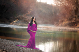 Photo Cotton Canada - New Maternity Dress For Photo Shooting Dress Maternty Photography Props Long Cotton Maxi Pregnancy Photo Dress