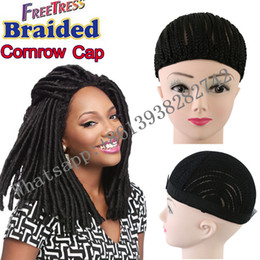 $enCountryForm.capitalKeyWord NZ - 1 piece Adjustable Braided Wig Cap Cornrow Wig Caps For Making Wigs Weaving Cap For Glueless Lace Wig Making Bellqueen Hair Factory Products