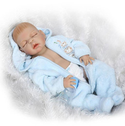 $enCountryForm.capitalKeyWord NZ - New 23 Inch 57cm Boy Gender Full Silicone Body Reborn Baby Dolls Baby reborn Children Toys Bonecas