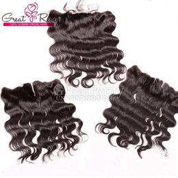 Discount natural hair hairpieces - 13*4 ear to ear 100% Brazilian Virgin Body Wave Top Closure Frontals Unprocessed Lace Frontal Hairpieces Lace Frontal Cl