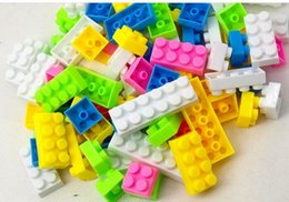 Kids Block Games Australia - wholesale 96pcs Building Blocks toys with pictures early education puzzle Education ToysKindergarten games teaching utensils children gifts
