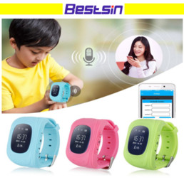 Gsm Gprs Gps Australia - Q50 GPS GSM GPRS Smart Watch For Kids Locator Tracker Anti-Lost Remote Monitor Children Anti-Lost With the Retail Box