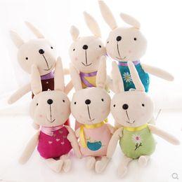 $enCountryForm.capitalKeyWord NZ - Wholesale- New pattern Plush toys The rabbit doll Small pendant The wedding gift Gift Rag doll On Sale Children's Toys Free shipping