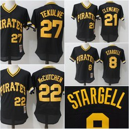 new arrival d8f8d f21ba pittsburgh pirates 8 willie stargell 1960 cream vest ...
