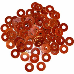 Tattoo Machine Coils Parts Australia - Wholesale-100pcs Tattoo Machine Phenolic Coil Core Washers Parts Supply -- TMP-59