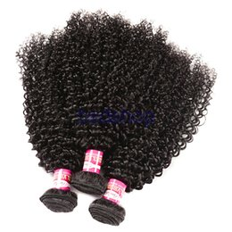 Discount chinese curly hair - Malaysian Curly Hair Weaves Grade 8A Unprocessed Malaysian Human Hair Deep Wave Kinky Curly Human Hair 3 4 Bundles Malay