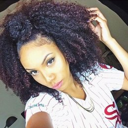 $enCountryForm.capitalKeyWord Australia - Lace Front Human Hair Wig Afro Kinky Curly For African Women Acceptable Price 150% Density Lace Wigs Free Part
