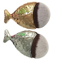 Magic Handle Canada - 2017 Hot new Beauty Makeup Brushes Mermaid Handle Wizard Magic Wand Brushes free shipping