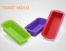 toast mold Canada - 3pcs set DIY kitchen mold creative Silicone small size toast mold handmade soap moulds silicone cake bakeware mold