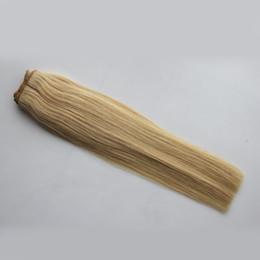 China 613 blonde hair weave Straight vip beauty hair 100g human hair crochet weave bundles 1PCS 613 COLOR blonde bundles cheap vip hair suppliers