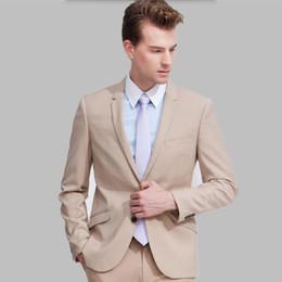 $enCountryForm.capitalKeyWord Australia - Tailor Made men Suits Slim Custom Fit prom party suits Tuxedo Fashion Bridegroom Business Dress Wedding Suits (Jackets+Pants)