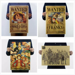 $enCountryForm.capitalKeyWord Canada - 19 Styles Vintage Paper Retro Anime Poster - Luffy Wanted Posters Kid Cudi Poster Vintage Home Wall Sticker Decor 5pcs lot