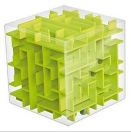 Discount puzzle maze ball - Transparent 3D Mini Speed Cube Maze Magic Ball Elderly Puzzle Intelligence Children Early Childhood Education Puzzle Toy