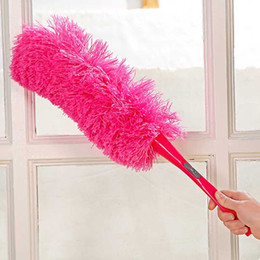 $enCountryForm.capitalKeyWord NZ - 2016 New 1pc Long design cleaning dust ultrafine fiber household cleaning car Dust duster feather brush IC671816