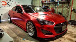 graphics for cars 2019 - Union Red Chrome Satin Vinyl Flex Car Wrap Film with air bubble Free For Luxury Vehicle   truck Graphics Covering foil s
