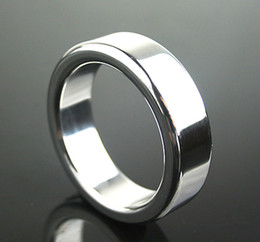 $enCountryForm.capitalKeyWord Australia - Heavy Scrotum Bondage Gear Ball Stretcher Male Penis Cock Ring Stainless Steel Metal Chastity Ring Adult Sex Toy for Men Delay Ejaculation