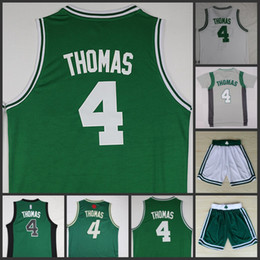 b5c870761 4 Isaiah Thomas green white grey home away 2016 Christmas jersey and short  best quality Basketball Jerseys Size S-XXXL cheap christmas basketball  jersey ...