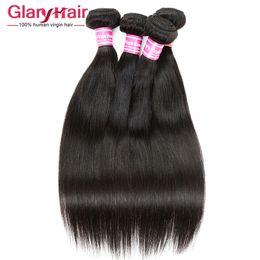 Discount virgin peruvian hair uk Wholesale Remy Human Hair Weave uk 8a Brazilian Peruvian Malaysian Indian Mongolian Cambodian Raw Virgin Hair Straight B