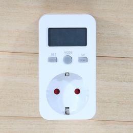 energy outlets 2019 - Power Meter Digital LCD Display Volt Amper Watt Power Factor Energy Electronic Power Analyzer German Standard EU Type Ou