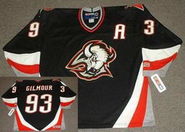 ddb375ee9 Buffalo Sabres 1999 CCM Vintage Away  32 ROB RAY  39 Dominik Hasek  36  MATTHEW BARNABY  16 PAT LAFONTAINE  27 Peca Goalie Cut Hockey Jersey
