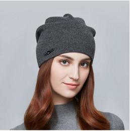 f53c1e69c52 ENJOYFUR Rhinestones Wool Knitted Winter Hats For Women Autumn Cashmere  Female Hat Girl Warm Gravity Falls Cap 2017 Lady Beanies