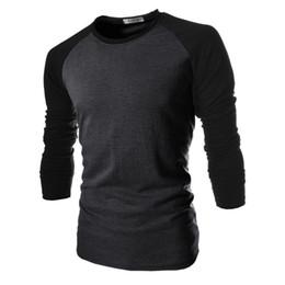 $enCountryForm.capitalKeyWord UK - Wholesale- T Shirt Male 2017 Tshirt Mixed Colors Long-Sleeves Shirt Mens Brand T-Shirt Male Shirts Men Slim T-Shirt XXL