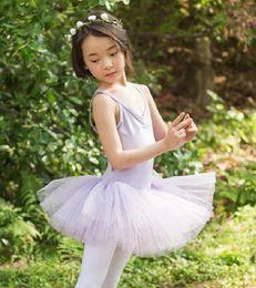 Cheap Pink Tutus For Women Australia - Ballet Tutu For Girls High Quality Swan Lake Dance Costume Childrem Summer Cheap Dancing Ballet Dress