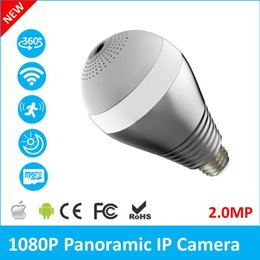 $enCountryForm.capitalKeyWord NZ - HD 1080P 2.0MP WIFI Bulb IP Camera 360 Degree Panoramic H.264 Infrared Indoor Motion Detection Security Camera V380 Enerfer